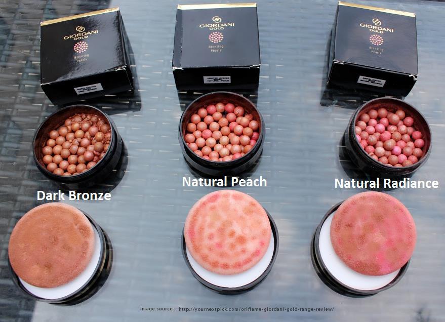 giordani gold bronzing pearls oriflame makeup purvi pritesh shah